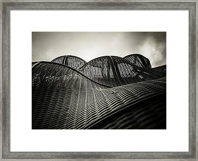 Artistic Curves Framed Print