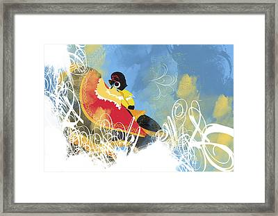 Artistic Pattern Framed Print