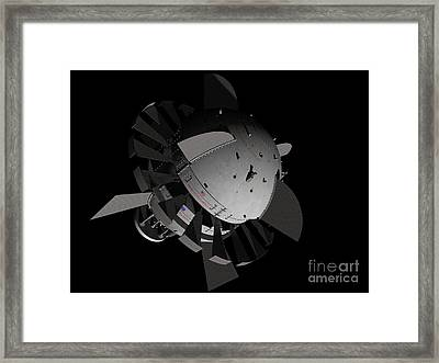 Artists Concept For An Orion-drive Framed Print by Rhys Taylor