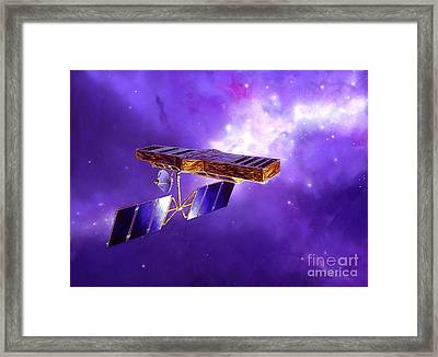 Artists Concept Of Space Interferometry Framed Print by Stocktrek Images