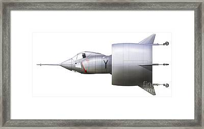 Artists Concept Of The Snecma Framed Print by Chris Sandham-Bailey
