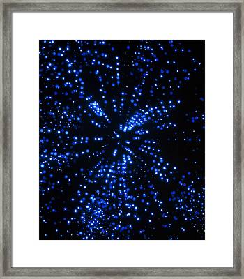Artist's Impression Of Starfield From Spaceship Framed Print by Julian Baum