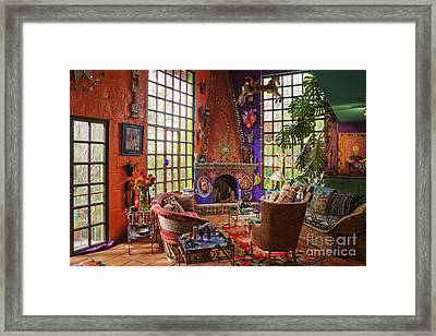 Artists Sitting Room Framed Print by Jeremy Woodhouse