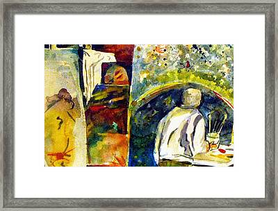 Artists Studio Framed Print by Mindy Newman