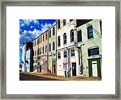 Arts Allee Framed Print