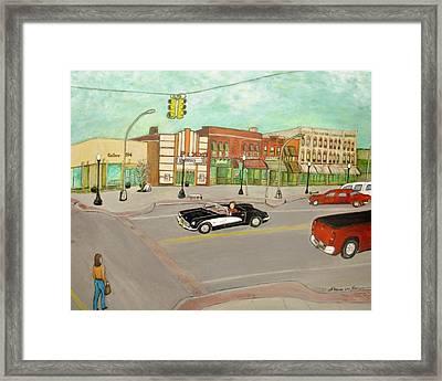 Arts Of Lapeer Framed Print by Sharon Lee Samyn