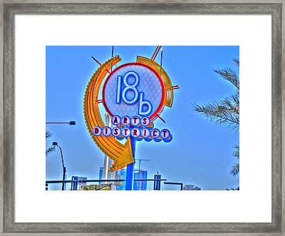 Artsy Framed Print by Barry R Jones Jr