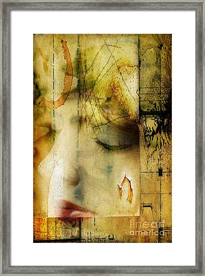 Artsy Girl Framed Print by David Taylor