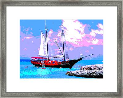 Aruba Adventure Framed Print by Jerome Stumphauzer