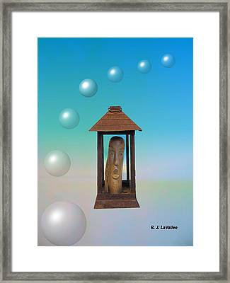 As 2011 Passes Into History Framed Print