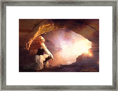As Above Framed Print by Jennifer Gelinas
