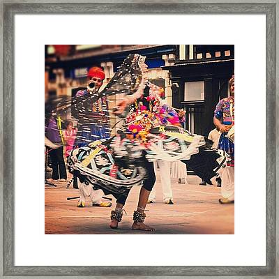 As #dance ... Another #latergram Framed Print