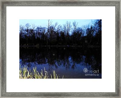 As Dawn Breaks Framed Print by Doug Kean