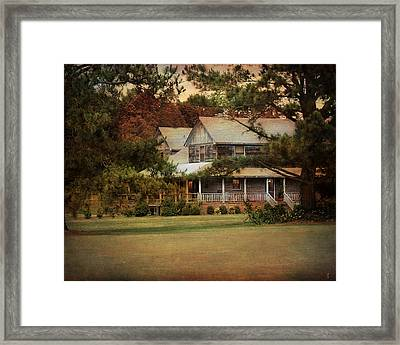 As Evening Falls Framed Print by Jai Johnson