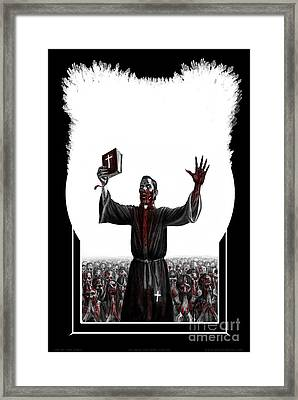 As I Rule They Shall Follow Framed Print by Tony Koehl
