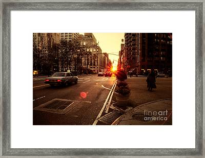 As It Does.. Framed Print by John Farnan