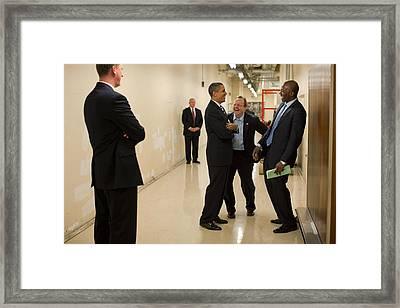 As Serious Secret Service Agents Main Framed Print by Everett