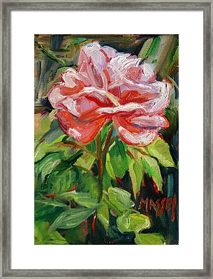 As Sweet Framed Print by Marie Massey