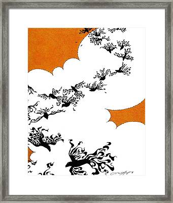 As The Crows Fly Framed Print