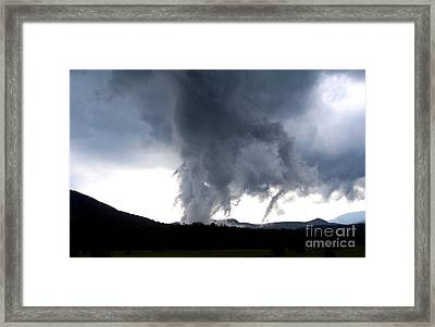 As The Storm Passed 1 Framed Print by Peggy Miller