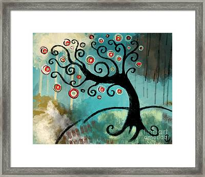 As The Wind Blows Framed Print by Lindsey Cormier