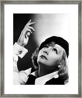 As You Desire Me, Greta Garbo, Portrait Framed Print by Everett