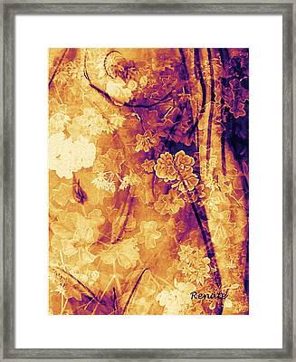 As You See Me.... Framed Print