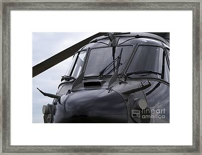 As532 Cougar Of Switzerland Air Force Framed Print by Ramon Van Opdorp