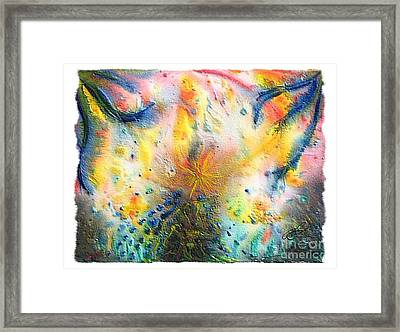 Ascend Framed Print by Lisa Golem