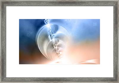 Ascension Framed Print by Dan Turner