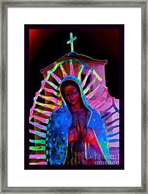 Ascension Virgin Of Guadalupe Framed Print by Susanne Still