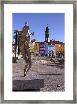 Ascona - Switzerland Framed Print by Joana Kruse