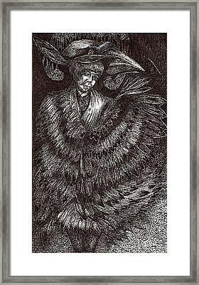 Asema Transforms Framed Print by Al Goldfarb