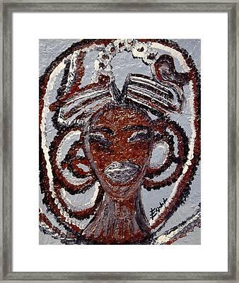 Ashanti Framed Print