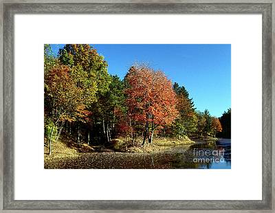 Framed Print featuring the photograph Ashby Pit by Jack R Brock