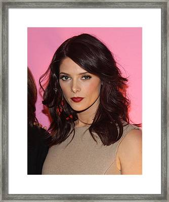 Ashley Greene At Arrivals For Inside Framed Print by Everett