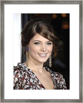 Ashley Greene At Arrivals For Premiere Framed Print