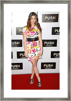 Ashley Greene At Arrivals For Push Framed Print by Everett