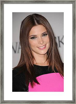 Ashley Greene At Arrivals For The 2011 Framed Print by Everett