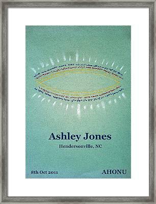 Ashley Jones Framed Print