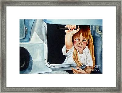 Ashley Framed Print