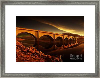 Ashopton Sun Rise Framed Print by Nigel Hatton