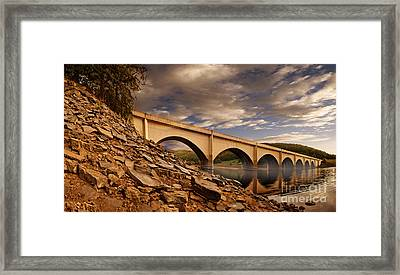Ashopton Viaduct Framed Print by Nigel Hatton