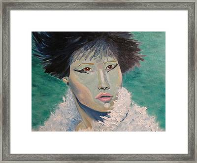 Asian Flare Framed Print
