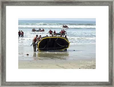 Asic Underwater Demolitionseal Students Framed Print by Stocktrek Images