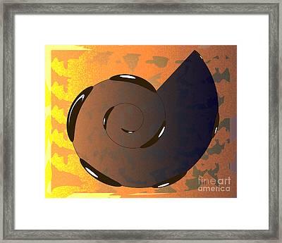 Asomatous IIi Framed Print by Michelle Bergersen