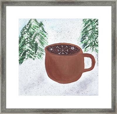 Aspen Cup Framed Print