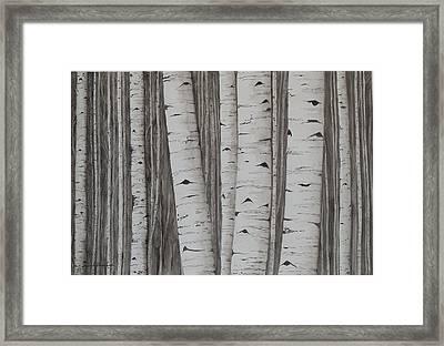 Aspens No. 1 Framed Print