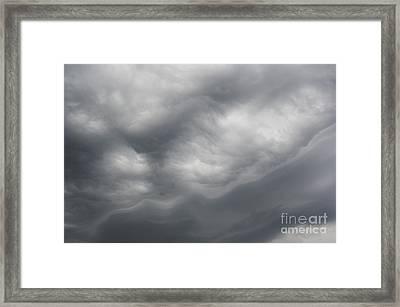 Asperatus - Sky Before Storm Framed Print