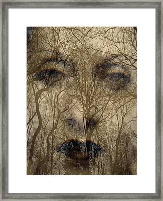 Asphalt - Portrait Of A Lady 2 Framed Print